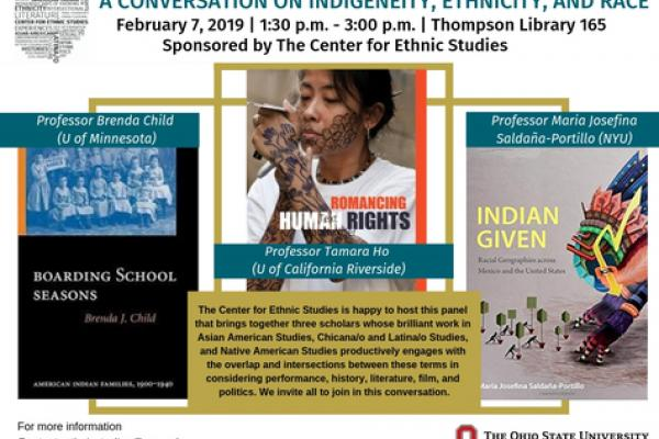 conversation with three scholars on February 7th 2019